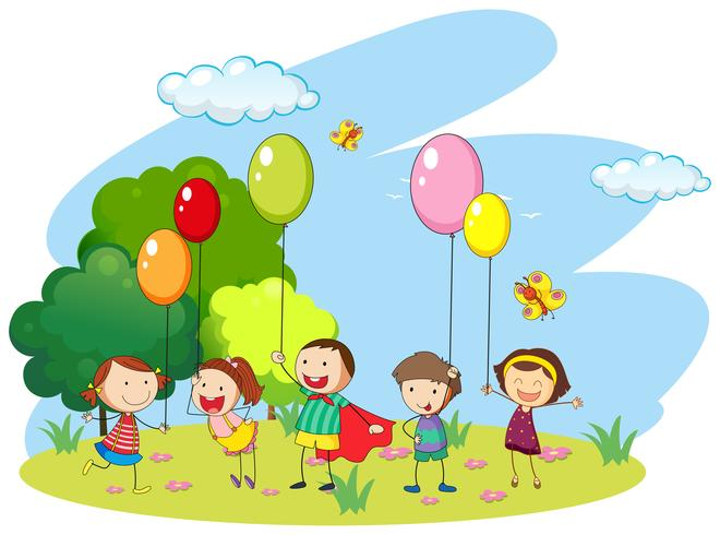 Saludo día del niño/a