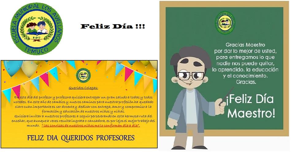 Feliz día del profesor!!!